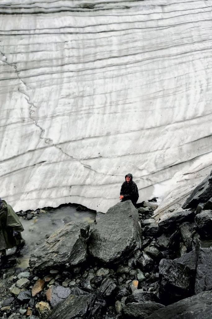 Алтай, ледник Маашей-Баши